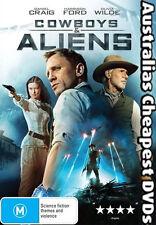 Cowboys & Aliens DVD NEW, FREE POSTAGE WITHIN AUSTRALIA REGION 4