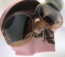 Juicy Couture Shades of Couture Sunglasses & Case Honey