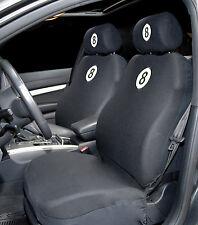 Sumex protección acolchada y comodidad COCHE ASIENTO DELANTERO CUBRE-Diseño Negro de Bola de 8