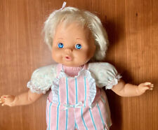 Vintage 1990 Tyco Magic Bottle Baby Doll 14�