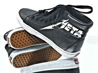 VANS SK8-Hi Reissue Metallica Black/White Limited Edition Men/Women Multiple SZs