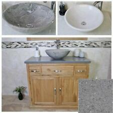 Oak Freestanding Home Bathroom Sinks