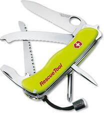 NEW SWISS ARMY 53900 SWISS RESCUE  YELLOW TOOL VICTORINOX KNIFE SALE PRICE