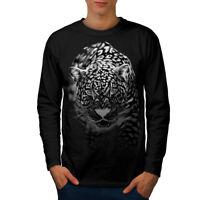 Cougar Puma Killer Men Long Sleeve T-shirt NEW | Wellcoda