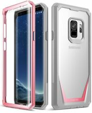 POETIC Guardian Bumper Case Built-in-Screen Protector For Samsung Galaxy S9 Pink