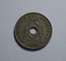 25 C. Centimes  Cen Belgien Belgum 1928 TOP! (G3)