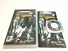 MONSTER HUNTER FREEDOOM UNITE SONY PSP PAL BOITE ET NOTICE COMPLET