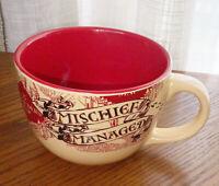 Harry Potter Marauder's Map Mischief Managed Coffee Cup Soup Mug Ceramic 24oz Lg