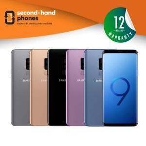 Samsung Galaxy S9 Plus Dual Sim - 64/128/256GB (Unlocked SIMFREE) Smartphone