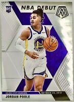 2019-20 Panini Prizm Mosaic Jordan Poole Rookie Card RC NBA Debut Warriors 📈🔥