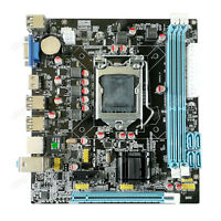 NEW Mainboad For Intel H61 Socket LGA 1155 MicroATX Motherboard DDR3 16GB HDMI