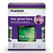 Plagron Top Grow Box Bio Dünger Komplettset Erde BioDüngeSet für 1 m²+Messbecher