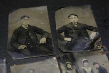Vintage Photo tin type Photograph Figures & Portraits