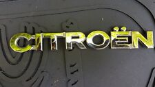 CITROEN XSARA Coffre Hayon Emblème Badge Decal Logo Chrome Arrière 9631512580