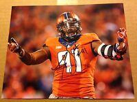 Dawuane Smoot Autographed Illinois Football 8x10 Photo COA Big Ten