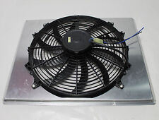 "AFCO RADIATOR FAN SHROUD with SINGLE ELECTRIC FAN Aluminum for 23 3/4"" core  NEW"
