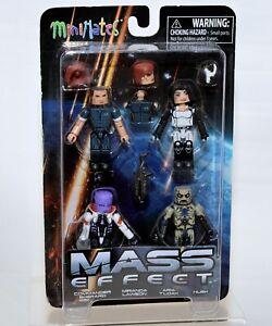 Diamond Select Toys Mass Effect Minimates Series 1 Box Set NEW!