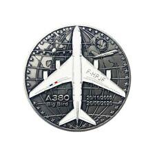 Médaille A380 Air France Tricolore, série limitée 200 médailles numérotées