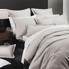 Platinum Logan and Mason Ascot Stone Double Bed Duvet Doona Quilt Cover Set