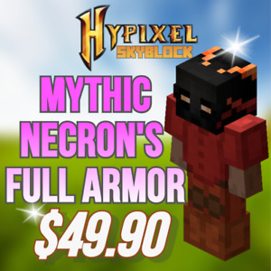 🥇 Hypixel Skyblock Necron's Armor Mythic/Legendary