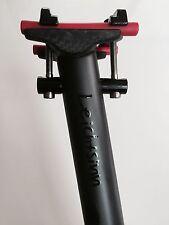 BERNER-Bikes.com - Leichtsinn Sattelstütze gerade Carbon 400mm - 27,2 UD-Matt