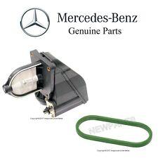 For Mercedes R129 W124 W202 Intake Manifold Resonance Valve Flap & Gasket Set