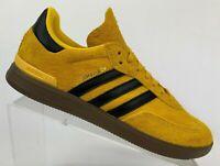 Adidas Original Samba ADV DB3188 Yellow Black bold gold Skateboarding Men Sz 8.5