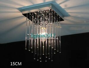 New LED Aisle Crystal Ceiling Light Fixture Pin Lamp Lighting Chandelier