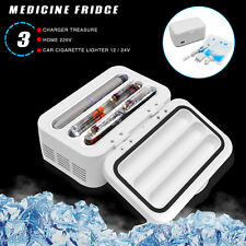 Portable Medicine Fridge Diabetic Insulin Refrigerator Cooler Case Box USB 2-8℃