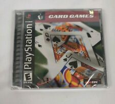 Vintage Card Games PlayStation PS1 Video Game New Sealed