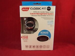 MIO Motion CLASSIC FIT EKG ACCURATE HEART RATE CALORIE MANAGEMENT SYSTEM NEW