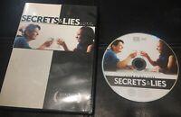 Secrets & Lies (DVD, 2005, Widescreen) *Very Rare/OOP* Timothy Spall *GREAT COND