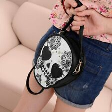 Fashion Women Mini PU Purse Skull Shoulder Handbag Satchel X5