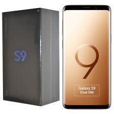 New Samsung Galaxy S9 Dual-SIM 64GB SM-G960F Gold Factory Unlocked 4G SIM-Free