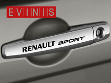 RENAULT SPORT SMALL SYMBOL DOOR HANDLE DECALS STICKERS GRAPHICS X4