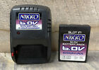 NIKKO 6.0V 650mAh Ni-Cd SLOT IN BATTERY PACK AND 4 HOUR CHARGER
