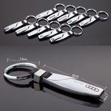Voiture 3D Logo Zinc Titanium Drop Style Porte-clés Anneau BMW Subaru Audi Ford etc