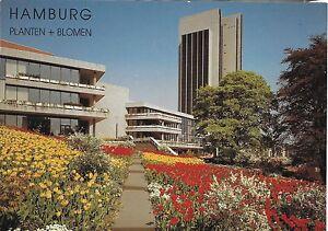 VINTAGE HAMBURG PLANTEN + BLOMEN - UNUSED VINTAGE GERMAN POSTCARD (X3)