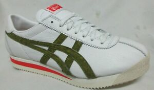 Asics Onitsuca  Tiger Stripes white Men Walking Shoes 8.5