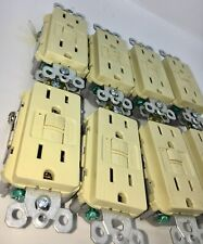 LOT OF 10 Pass Seymour 1597TRI Tamper Resistant 15A 125V GFCI IVORY FREE SHIP