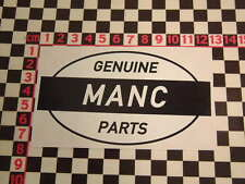 Ed Roth Style Manchester Genuine Parts Sticker - United City Bolton Wigan Oldham