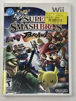 Super Smash Bros. Brawl (Nintendo Wii) Complete  w/Manual Tested