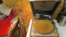 Antique Plaza Music Pal Junior Wind Up Record Player