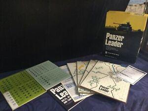 Panzer Leader Board Game Avalon Hill