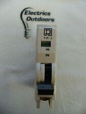 SQUARE D 16 AMP TYPE 3 M9 MCB CIRCUIT BREAKER 240/415V QOE BS 3871