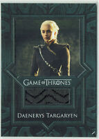 Game of Thrones Inflexions Relic Costume Card VR7 Daenerys Targaryen Coat