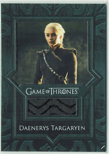 Game of Thrones Inflexions Relic Costume Card VR7 Daenerys Targaryen Coat