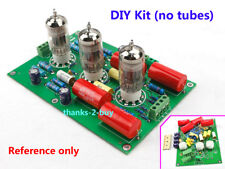 Hifi Stereo Tube preamp kit base on C22 preamplifier Circuit ( No tubes) 12AX7