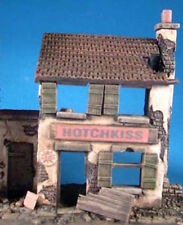 Milicast DBS07 1/76 Resin Diorama WWII Ruined European Style House #1