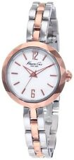 Steel White Face Two Tone Watch Kenneth Cole Kc4764 Ladies Rose Gold Stainless